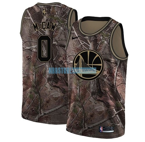 Maillot NBA Golden State Warriors NO.0 Patrick McCaw Camo Swingman Collection Realtree 2018 Qualité 100%