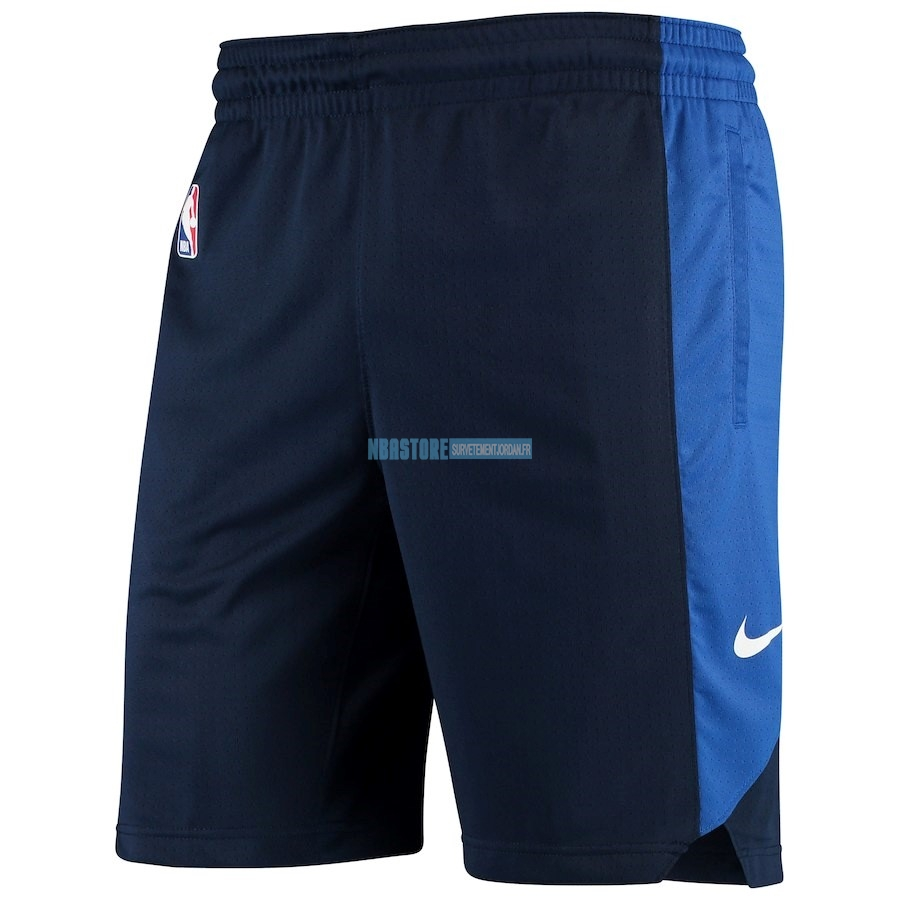 Short Basket Dallas Mavericks Nike Marine 2018 Qualité 100%