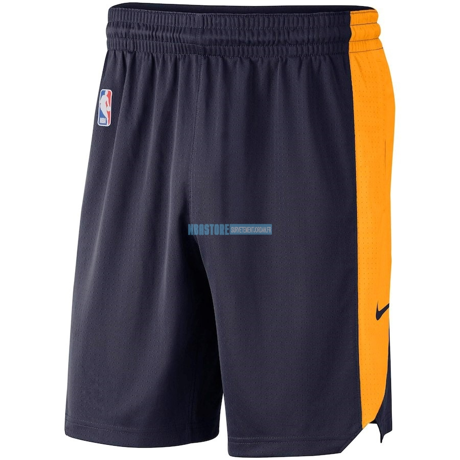 Short Basket Utah Jazz Nike Marine 2018 Qualité 100%