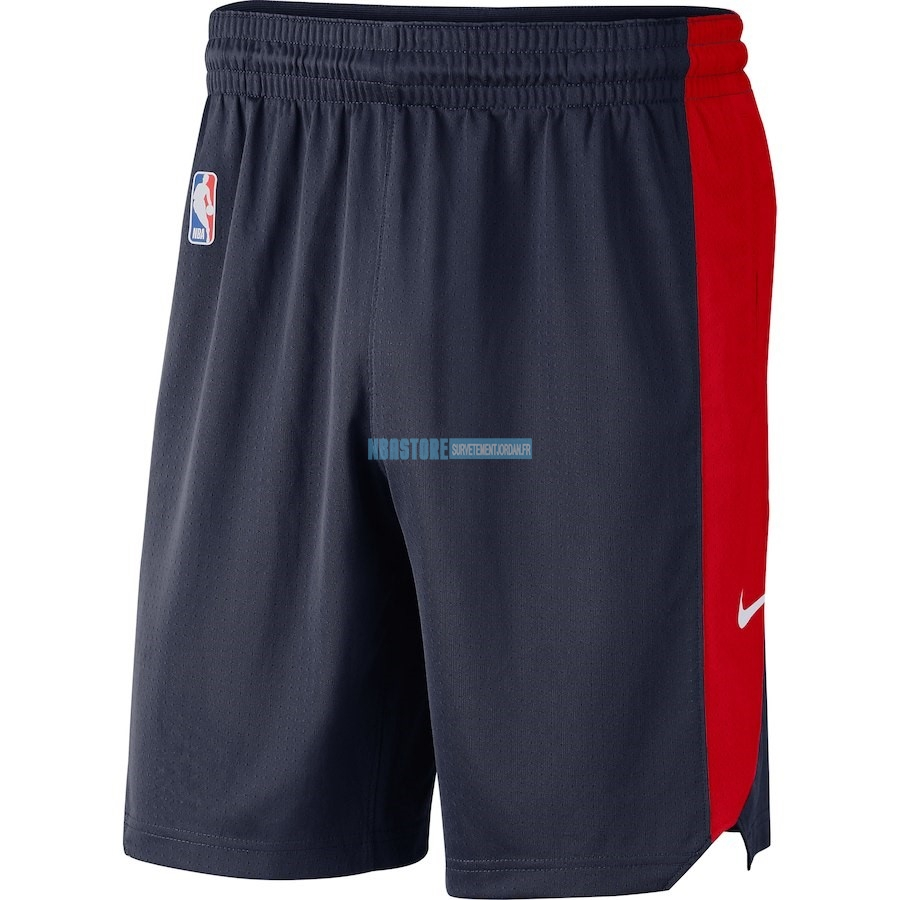 Short Basket Washington Wizards Nike Marine 2018 Qualité 100%