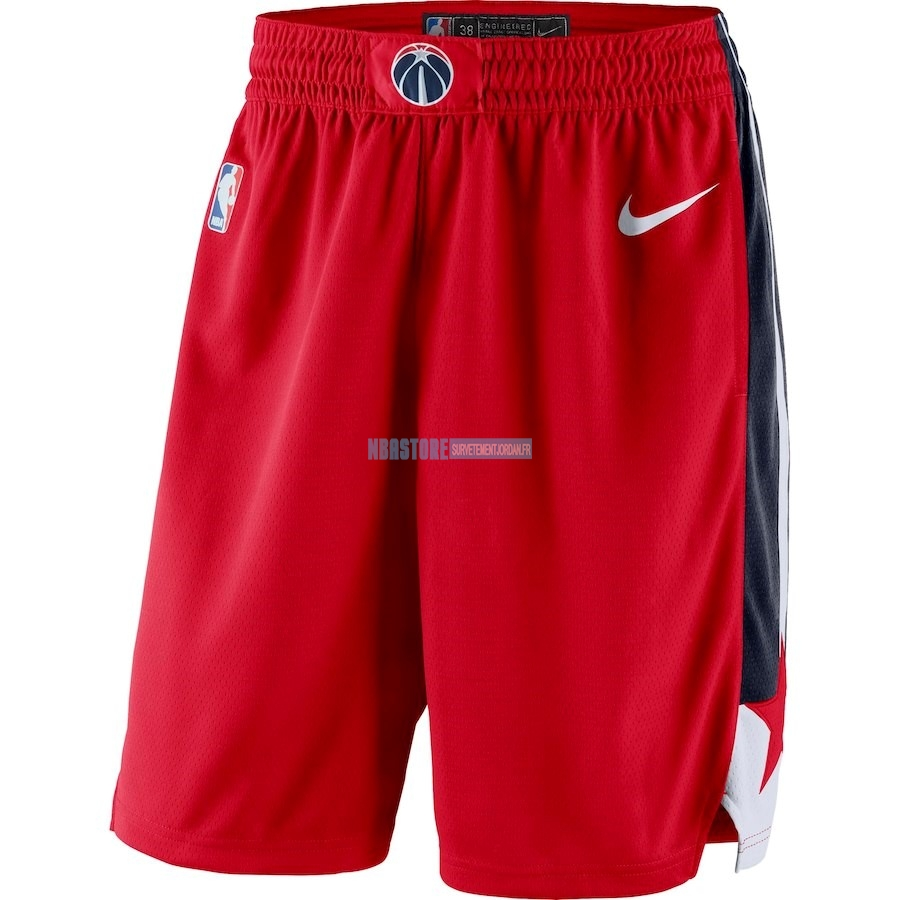 Short Basket Washington Wizards Nike Rouge Icon 2018 Qualité 100%