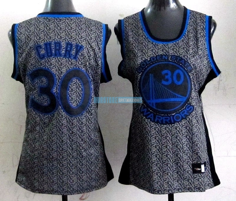 Maillot NBA Femme 2013 Static Fashion NO.30 Stephen Curry Qualité 100%