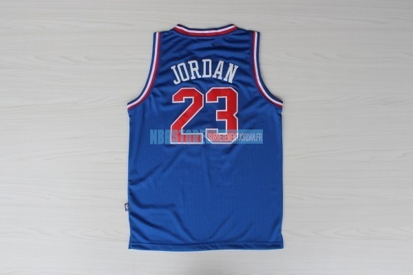 Maillot NBA 1992 All Star NO.23 Michael Jordan Bleu Qualité 100%