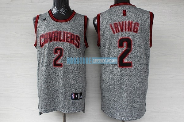 Maillot NBA 2013 Static Fashion Cleveland Cavaliers NO.2 Irving Qualité 100%