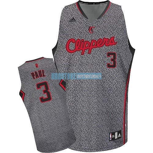 Maillot NBA 2013 Static Fashion Los Angeles Clippers NO.3 Chris Paul Qualité 100%