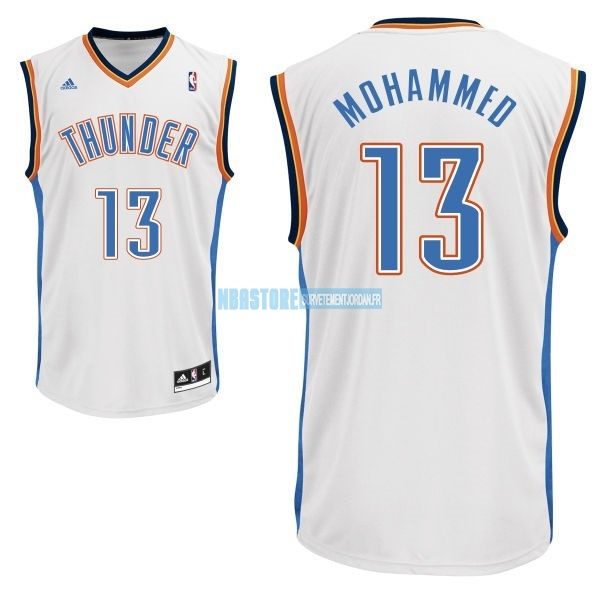 Maillot NBA Oklahoma City Thunder NO.13 James Harden Blanc Qualité 100%