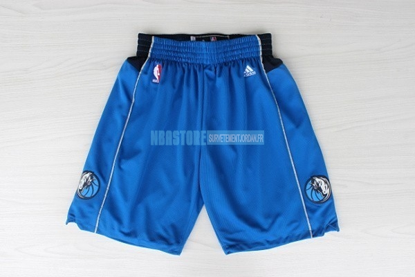 Short Basket Dallas Mavericks Bleu Qualité 100%