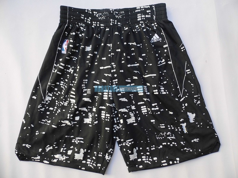 Short Basket Ville Lumières Golden State Warriors Noir Qualité 100%